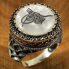 men ring silver