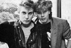 John Taylor and Roger Taylor - Duran Duran.