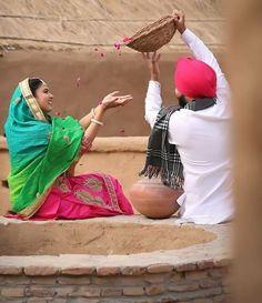 Pre Wedding Poses, Wedding Couple Poses Photography, Pre Wedding Photoshoot, Bridal Photography, Wedding Shoot, Photoshoot Ideas, Fashion Photography, Punjabi Wedding Couple, Punjabi Couple