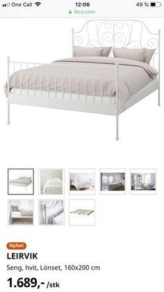 (65) Ikea seng Leirvik og Hövåg madrass 160x200   FINN.no Leirvik Bed, Bed Frame, Storage, Furniture, Home Decor, Purse Storage, Bed Base, Decoration Home, Room Decor
