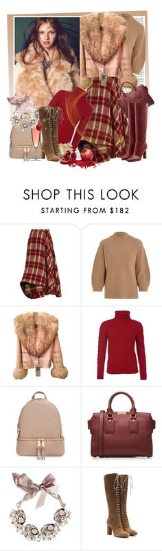 """A Season to Sparkle"" by sylandrya ❤ liked on Polyvore featuring Brock Collection, 3.1 Phillip Lim, Barbour, MICHAEL Michael Kors, Burberry, Gabriele Frantzen, Etro, Diane Von Furstenberg and Miu Miu"