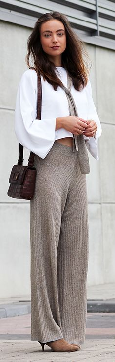 Chic Comfort Outfit Idea by Mode d'Amour