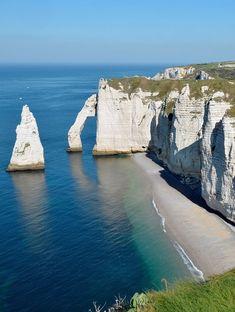 Cliffs of Étretat - Normandy, France #GeorgeTupak