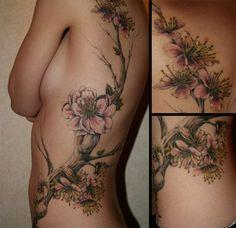 Designer Tattoo floral http://bodistyles.com