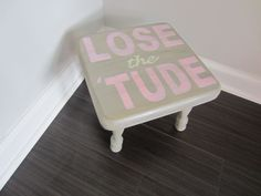 Time out stool, time out chair, time out bench, childrens stool, footstool by BigCheeksBoutique on Etsy https://www.etsy.com/listing/224823504/time-out-stool-time-out-chair-time-out