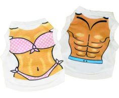 Furry Gems Dog Boutique - Muscle and Bikini Dog Tank Top, $12.99 (http://www.furrygems.com/muscle-and-bikini-tank/)