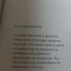 I will become a ghost as always...