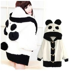 Abrigo panda / panda coat wh249