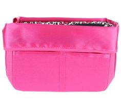 A perfect purse, every time. This portable purse and travel organizer makes it easy to keep your totes organized even when you often switch from bag to bag. The middle section is large enough for a wallet, makeup bag, and other everyday essentials, so you can just remove the organizer and place into the bag of your choice. The top zips to secure your belongings, and it folds down and is held by hidden magnets when not in use. From Pursfection. QVC.com