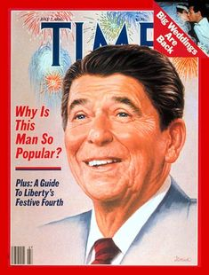 Time Magazine July 7, 1986     Kristy's birthday July 5th    President Reagan