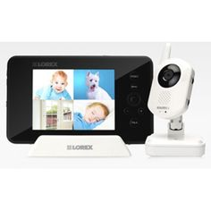 Lorex Video Baby Monitor  - Click image twice for more info - . See a larger selection of  baby video monitor  at http://zbabybaby.com/category/baby-categories/baby-safety/baby-video-monitor/   - gift ideas, baby , baby shower gift ideas  « zBabyBaby.com