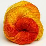 Yarn Love Marigold on Marianne Sport Weight Yarn, from the Fiber Cooperative