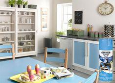 HOME DZINE Kitchen | Spray it on with Rust-Oleum spray paints