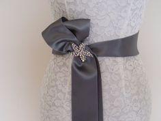 Bridal Dress Sash belt BRIDESMAID WEDDING SASH by WeeGardens, $29.00