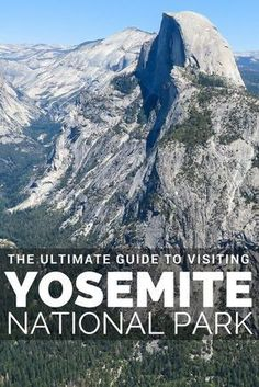 The ultimate guide to Yosemite National Park in California. A short drive from San Francisco, Yosemite is California's most iconic National Park in the United States of America USA. Make the road trip along the Tioga Road drive and use our full driving maps and Yosemite Travel guide to plan your trip.