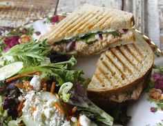 The Bristol ~Tuna salad, Cheddar, Swiss, Tomato, Pickles, Onion, Spinach, Rosemary Sourdough~