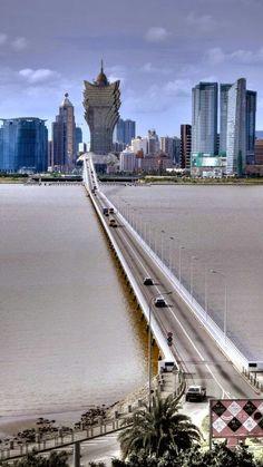 Macau, China... #China