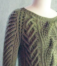shoulder by sundayknits, via Flickr...link to the ravelry page http://www.ravelry.com/patterns/library/fishermans-daughter