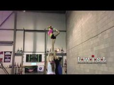 Examples of cheerleading stunts from levels This is not intended to be an instructional video, but a resource for athletes, parents, and coaches who wou. Cheerleading Moves, Easy Cheer Stunts, Cheer Moves, Cheer Jumps, Cheer Routines, Cheerleading Cheers, Cheer Coaches, Youth Cheer, Cheer Practice