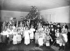 Ёлка в Мариинской школе глухонемых. Мариинск.1913г