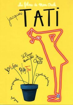 Artwork/ Posters for Jacques Tati movies