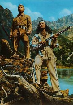 winnetou and old shatterhand - Google Search