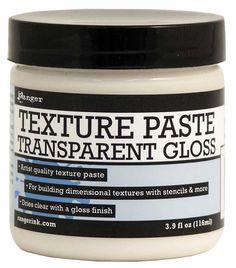 Texture Paste Transparent Gloss