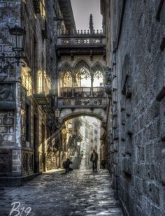 The Gothic Quarter, Barcelona, Spain - Barca19 Photography