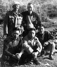 Partisans Việt Minh. Tonkin.