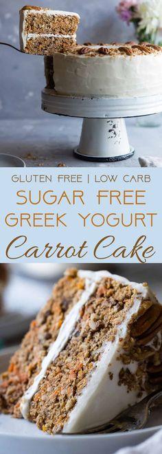 Low Carb Sugar Free Carrot Cake