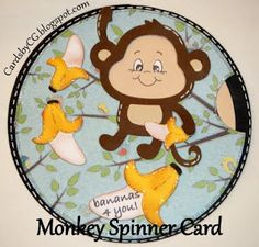 Cards By Cg Monkey Spinner Card Tutorial Spinner Card Creative Cards Card Tutorial