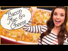 Ingrid Dishes | Bacon Mac And Cheese | Recipes from Missglamorazzi - YouTube
