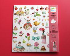 Le Thé des Princesses - Stickers Djeco - Mon grain d' sel