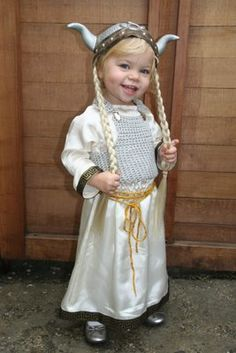 wee shield maiden--you know you'll fall at her feet, so don't even think of resisting.