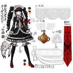 Dream cosplay! It looks really hard but worth the effort!  Celestia Ludenburg - Dangan Ronpa