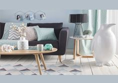 Inspirations Maisons du monde - Salon Scandinave