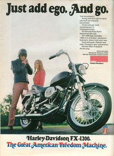 Harley Davidson - 1973 by rchappo2002, via Flickr