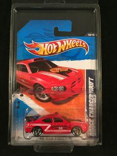 2011 Hot Wheels Mainstreet DODGE CHARGER DRIFT Red #70 Watkins Glen w/ PROTECTO  #HotWheels #Dodge