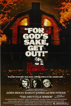 The Amityville Horror (1979) starring James Brolin, Margot Kidder & Rod Steiger