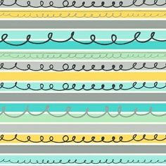 Stripes #41325-2 (Aqua) from the Animal ABCs collection designed by Whistler Studios for Windham Fabrics