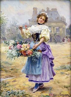 LOUIS MARIE DE SCHRYVER (1862-1942) : Lot 0016