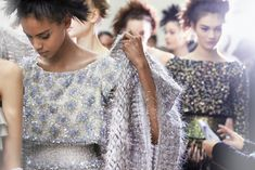 treshaute:  Backstage: Chanel, Haute Couture Spring/Summer 2014.