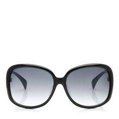 Black Round Framed Oversized Designer Sunglasses | Dahlia | JIMMY CHOO Sunglasses