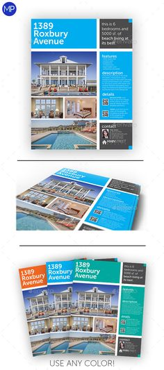 Modern Real Estate Flyer Template PSD   Buy and Download: http://graphicriver.net/item/modern-real-estate-flyer/8804760?WT.ac=category_thumb&WT.z_author=MediaPeak&ref=ksioks