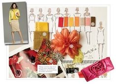 Introduction to Fashion: Tuesday, October 7 - Creating a Mood Board #moodboard
