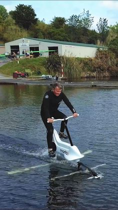 Jet Surf, Floating Architecture, Small Fishing Boats, E Mobility, Visit New Zealand, Build Your Own Boat, Diving Equipment, Pontoon Boat, Boat Design