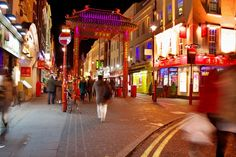 Soho - my favorite place for DRINKS   and china town for CHINESE FAST FOOD