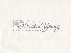 Premade photography logo design using a camera by AquariusLogos, $23.00