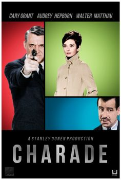Charade, starring Cary Grant and Audrey Hepburn is a classic, Old Hollywood 60's film. Check out the best Audrey Hepburn movies! thatretrocircus.wordpress.com