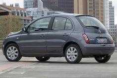 Seite: Nissan Micra  als Kleinwagen / Saloon  - 80 PS / 59 kW